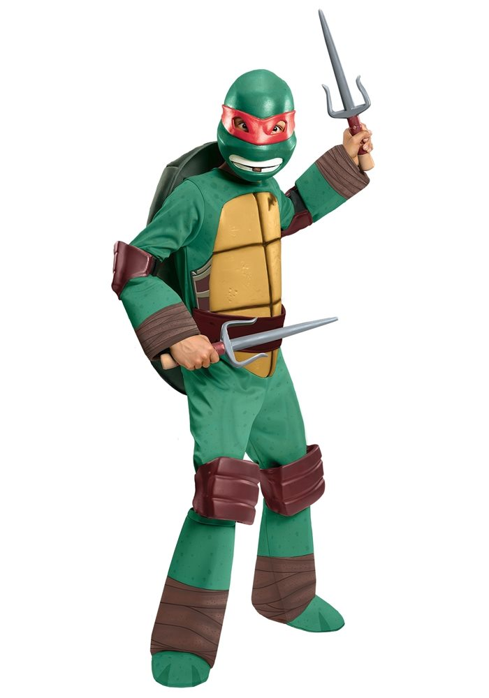 Picture of Teenage Mutant Ninja Turtles Deluxe Raphael Child Costume