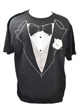 Picture of Tuxedo T-Shirt Plus Size Adult Mens Costume