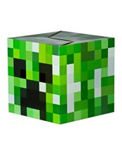 Picture of Minecraft Cardboard Creeper Head