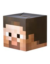 Picture of Minecraft Cardboard Steve Head