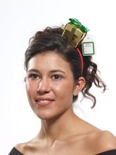 Picture of Gift Box Christmas Headband