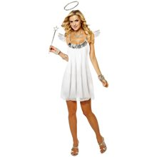 Picture of Baby Doll Angel Adult Womens Costume