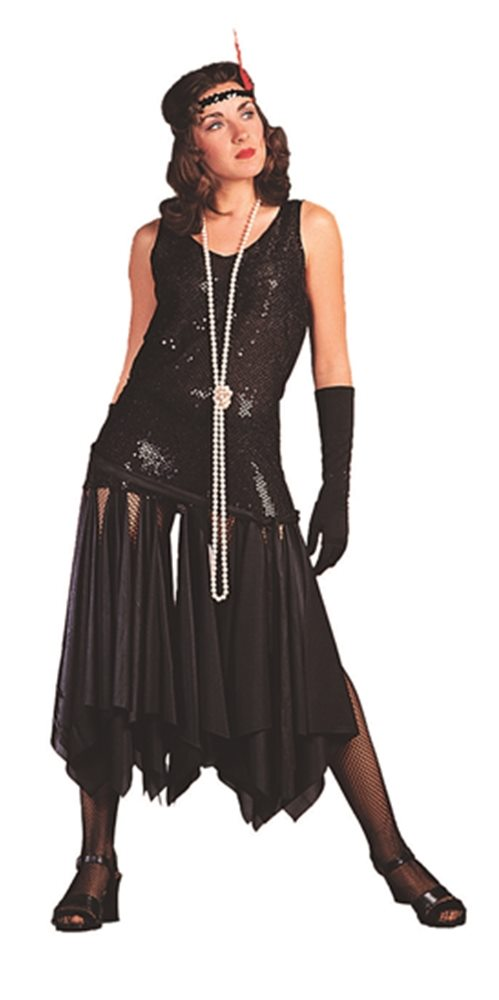 Picture of 1920s Black Flapper Adult Womens Costume