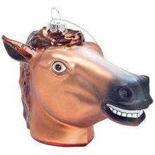 Picture of Creepy Horse Head Ornament