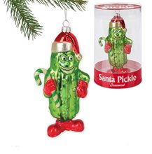 Picture of Archie McPhee Santa Pickle Ornament