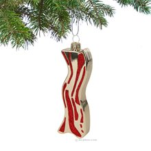 Picture of Archie McPhee Bacon Christmas Ornament