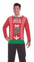 Picture of Inappropriate Under the Mistletoe Mens Christmas Sweater