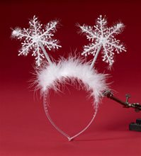 Picture of Santa Snowflake Headband