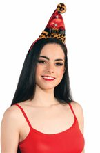 Picture of Leopard Santa Headband With Buckle