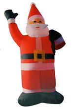 Picture of Santa Claus Inflatable Decoration 4ft