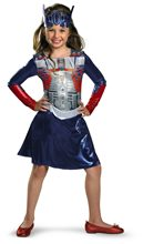 Picture of Optimus Prime Classic Girls Costume