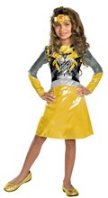 Picture of Bumblebee Classic Girls Costume