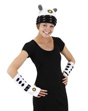 Picture of Doctor Who White Dalek Arm Warmers