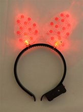 Picture of Red Hair Bow Light-Up Bopper