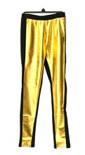Picture of Gold & Black Leggings
