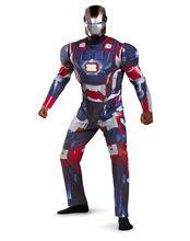 Picture of Iron Man Patriot Adult Mens Costume