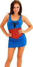 Picture of Spider Girl Adult Womens Tank Dress