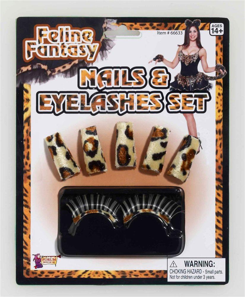 Picture of Feline Fantasy Nails & Eyelashes Kit