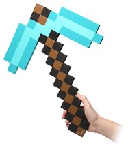 Picture of Minecraft Foam Diamond Pickaxe