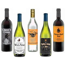 Picture of Halloween Bottle Labels 5ct