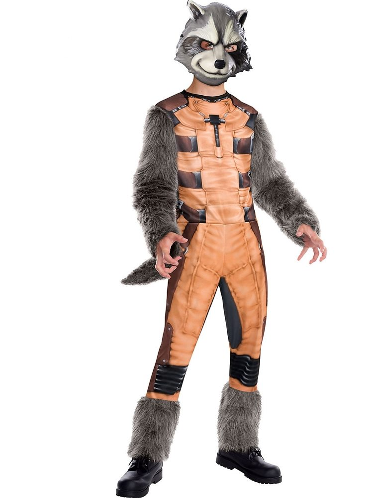 Picture of Rocket Raccoon Deluxe Child Costume