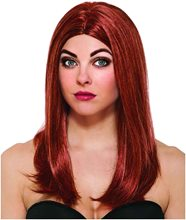 Picture of Black Widow Adult Wig