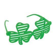 Picture of St. Patrick's Day Shamrock Shutter Glasses