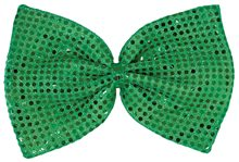 Picture of Giant Green Sequin Bow Tie