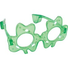 Picture of Light Up Shamrock Glasses