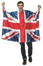 Picture of UK Flag Tunic Adult Unisex Costume
