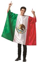 Picture of Mexico Flag Tunic Adult Unisex Costume