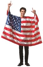 Picture of USA Flag Tunic Adult Unisex Costume