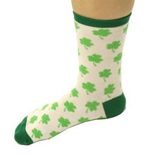 Picture of St. Patrick's Day Shamrock Socks