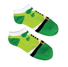 Picture of St. Patrick's Day Leprechaun Ankle Socks