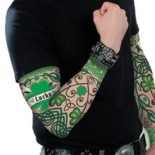 Picture of St. Patrick's Day Tattoo Sleeves