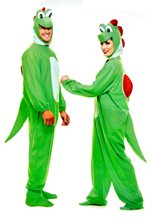 Picture of Yoshimoto Green Dinosaur Adult Unisex Costume