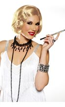 Picture of Pin Curl Flapper Honey Blonde Wig