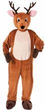 Picture of Reindeer Mascot Jumpsuit Adult Unisex Costume