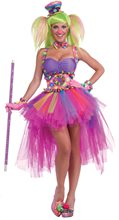 Picture of Tutu Lulu the Clown Adult Womens Costume