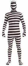 Picture of Prisoner Skin Suit Adult Mens Costume