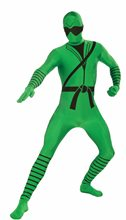Picture of Green Ninja Skin Suit Child Costume