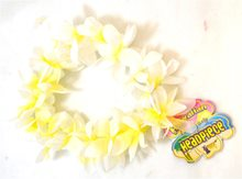 Picture of White & Yellow Headpiece Lei