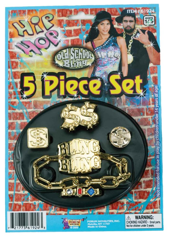 Picture of Hip Hop Jewelry Set