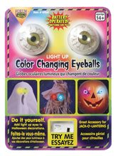 Picture of Light-Up Color Changing Eyeballs