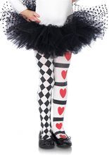 Picture of Harlequin Heart Child Tights