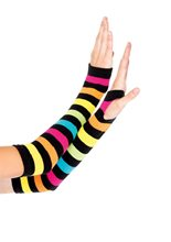 Picture of Neon Rainbow Gauntlet Gloves