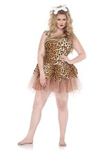 Picture of Cave Woman Adult Womens Plus Size Costume