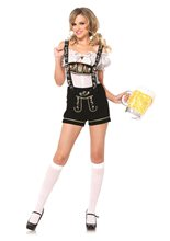 Picture of Embroidered Lederhosen Adult Womens Costume