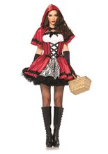 Picture of Gothic Red Riding Hood Adult Womens Costume