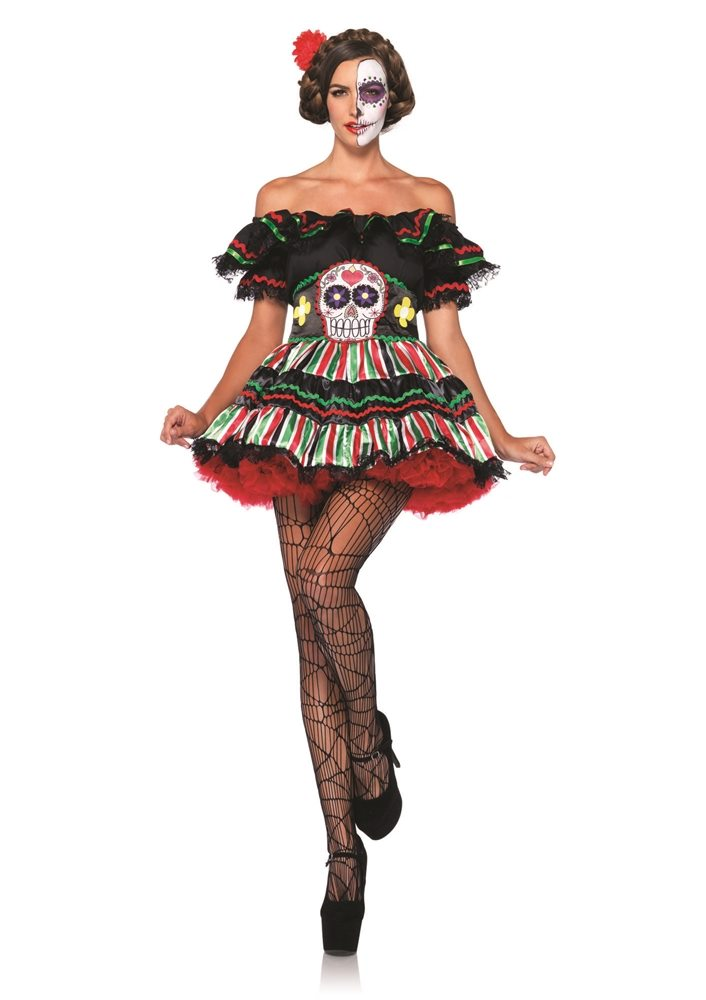 Picture of Day of the Dead Doll Adult Womens Costume